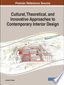 Cultural  Theoretical  and Innovative Approaches to Contemporary Interior Design Book