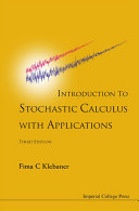 Introduction To Stochastic Calculus With Applications (3rd Edition) [Pdf/ePub] eBook