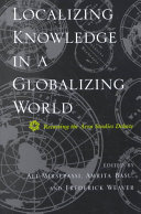Localizing Knowledge in a Globalizing World Book