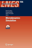 Microdynamics Simulation