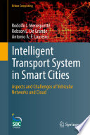 Intelligent Transport System in Smart Cities Book