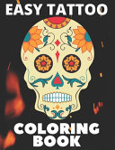 Easy Tattoo Coloring Book