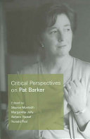 Critical Perspectives on Pat Barker