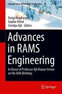 Advances in RAMS Engineering