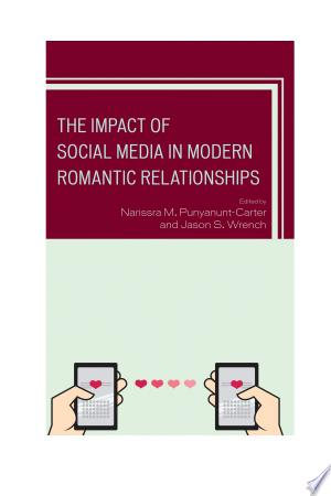 The+Impact+of+Social+Media+in+Modern+Romantic+RelationshipsThe Impact of Social Media in Modern Romantic Relationships is the communication field's most major, comprehensive volume of the study of social media and romantic relationship development. It is the first volume in the discipline of communication studies intended to provide an overview of romantic development that includes all types of social media, such as Tinder and Facebook. The volume contains several major communication and media scholars who have researched social media and romantic relationship development.