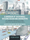 A Handbook of Sustainable Building Design and Engineering