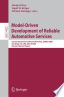 Model Driven Development of Reliable Automotive Services Book