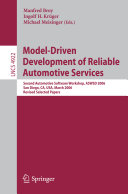 Model-Driven Development of Reliable Automotive Services