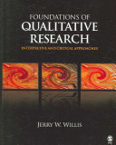 Cover of Foundations of Qualitative Research