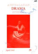 Australasian Drama Studies