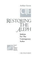 Restoring The Aleph