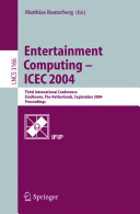 Entertainment Computing  ICEC