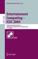Entertainment Computing--ICEC ...