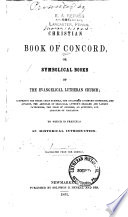 The Christian Book of Concord