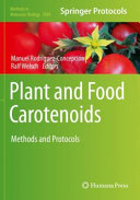 Plant and Food Carotenoids