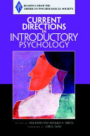 Current Directions In Introductory Psychology Book PDF