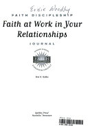 Faith at Work in Your Relationships
