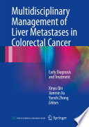 Multidisciplinary Management Of Liver Metastases In Colorectal Cancer Book PDF