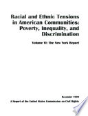 Racial And Ethnic Tensions In American Communities PDF