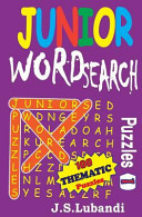 Junior Word Search Puzzles