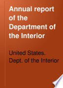 Report Of The Department Of The Interior With Accompanying Documents