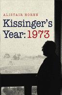 Kissinger s Year  1973