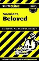 CliffsNotes on Morrison s Beloved