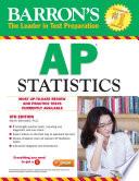 """""""Barron's AP Statistics"""" by Martin Sternstein"""