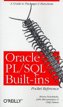 Oracle PL SQL Built ins Pocket Reference