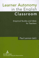 Learner Autonomy in the English Classroom