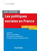 Pdf Aide-mémoire - Les politiques sociales en France - 4e éd. Telecharger