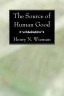 The Source of Human Good