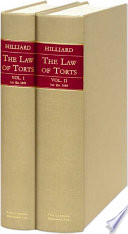 The Law of Torts Or Private Wrongs  , Band 1