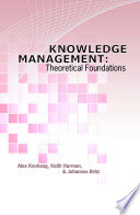 Knowledge Management  Theoretical Foundations