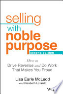 Selling With Noble Purpose Book