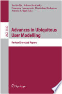 Advances in Ubiquitous User Modelling Book