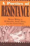 A Poetics of Resistance
