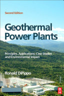 Geothermal Power Plants [Pdf/ePub] eBook