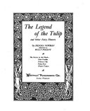 The Legend of the Tulip and Other Fairy Flowers