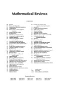 Mathematical Reviews Book PDF