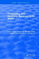 Composting and Recycling Municipal Solid Waste Book