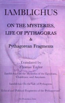 Iamblichus On The Mysteries And Life Of Pythagoras