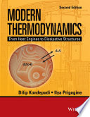 Modern Thermodynamics Book PDF
