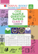Pdf Oswaal CBSE Sample Question Paper Class 11 Chemistry Book (Reduced Syllabus for 2021 Exam)