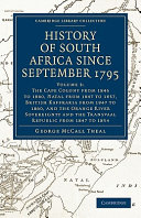Pdf History of South Africa Since September 1795