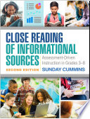 Close Reading of Informational Sources  Second Edition Book