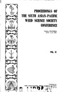Proceedings of the ... Asian-Pacific Weed Science Society Conference
