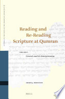 Reading And Re Reading Scripture At Qumran 2 Vol Set