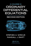 A Course in Ordinary Differential Equations  Second Edition Book