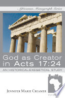God As Creator In Acts 17 24